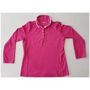 Under Armour Heat Gear Longs Sleeve Polo Shirt